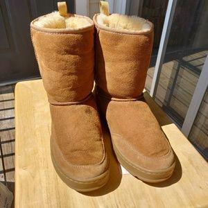 L.L.Bean Shearling Boot Mid Cut